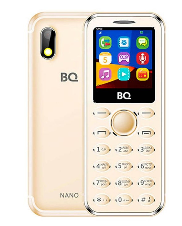 Мобильный телефон BQ-Mobile BQ-1411 Nano (золотистый), купить в Минске в  интернет-магазине   Bigi.by 02553600c5d
