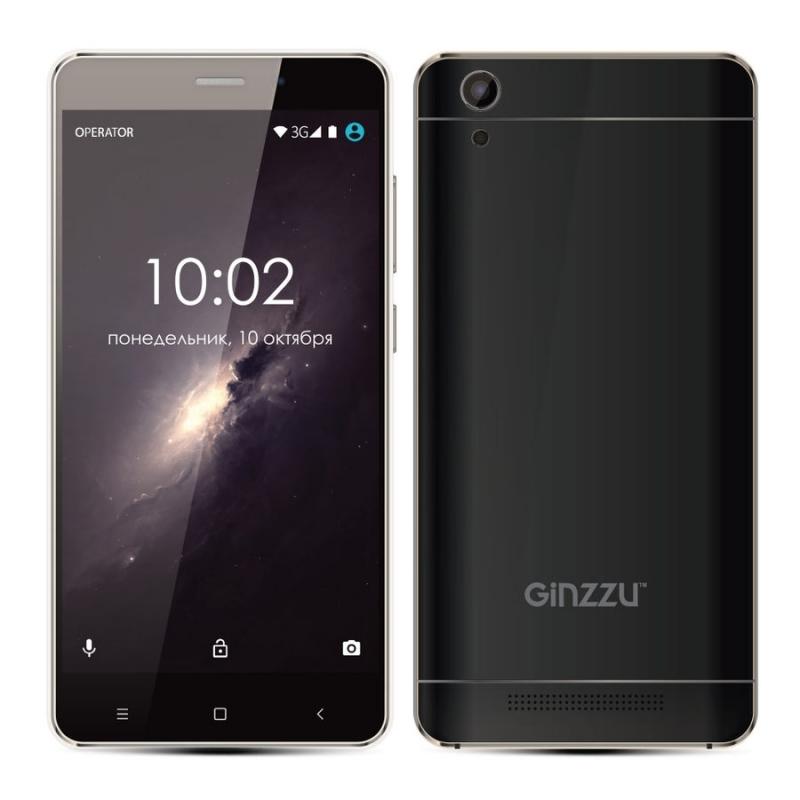 Ginzzu s5120 black 2 sim