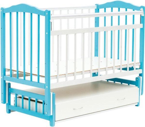 Кроватка маятник для новорожденного фото