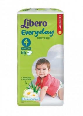 940130336d25 Подгузники Libero Everyday 4 (7-18 кг) 42 шт, купить в Минске в  интернет-магазине   Bigi.by