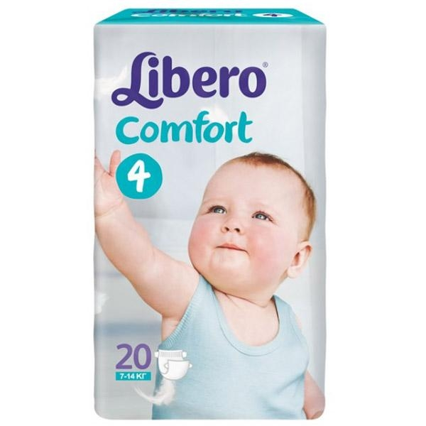 b27ab731b0f2 Подгузники Libero Comfort Fit 6 XL (66 шт), купить в Минске в ...