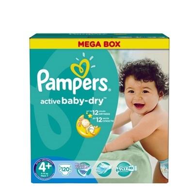 e162a4c869e7 Подгузники Pampers Active Baby 4+ Maxi Plus (18 шт), купить в Минске в  интернет-магазине   Bigi.by
