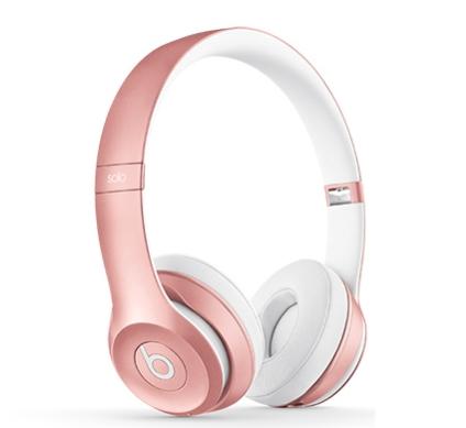 наушники Beats Solo3 Wireless розовое золото Mnet2 купить в