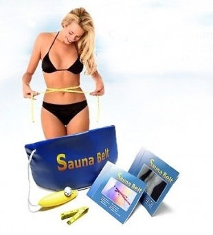 Как работает пояс-сауна для похудения живота? Помогает